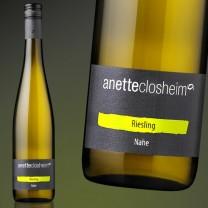 anette closheim  Riesling  Löhrer Berg  trocken 2015