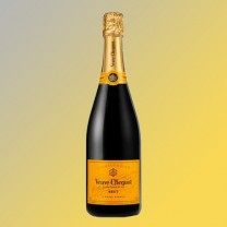 Veuve Clicquot Champagne Brut Yello Label