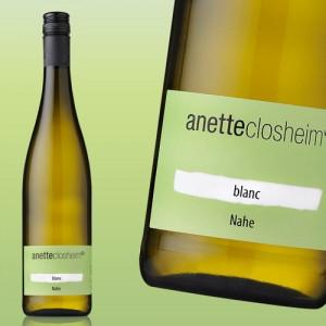anette closheim »Blanc« trocken 2017
