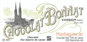 BONNAT Schokolade | Chocolat »Madagascar« 75%