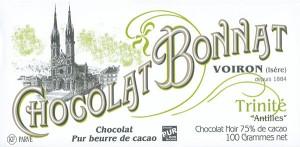 BONNAT Schokolade | Chocolat  »Trinite« 75%