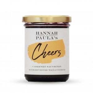 HANNAH & PAULAS Handgerührter Weinaufstrich »Cheers Cabernet Sauvignon«