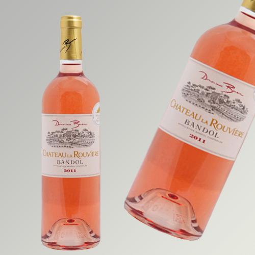 Domaines Bunan Chateau la Rouviere Bandol Rose 2016