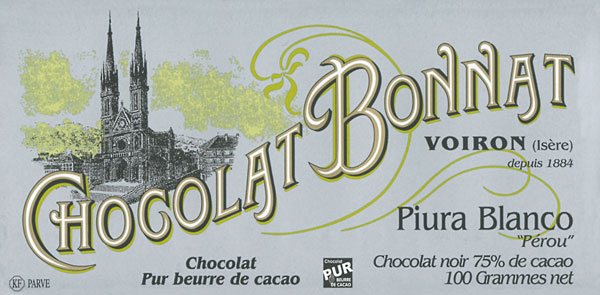 BONNAT Schokolade   Chocolat »Piura Blanco 75%
