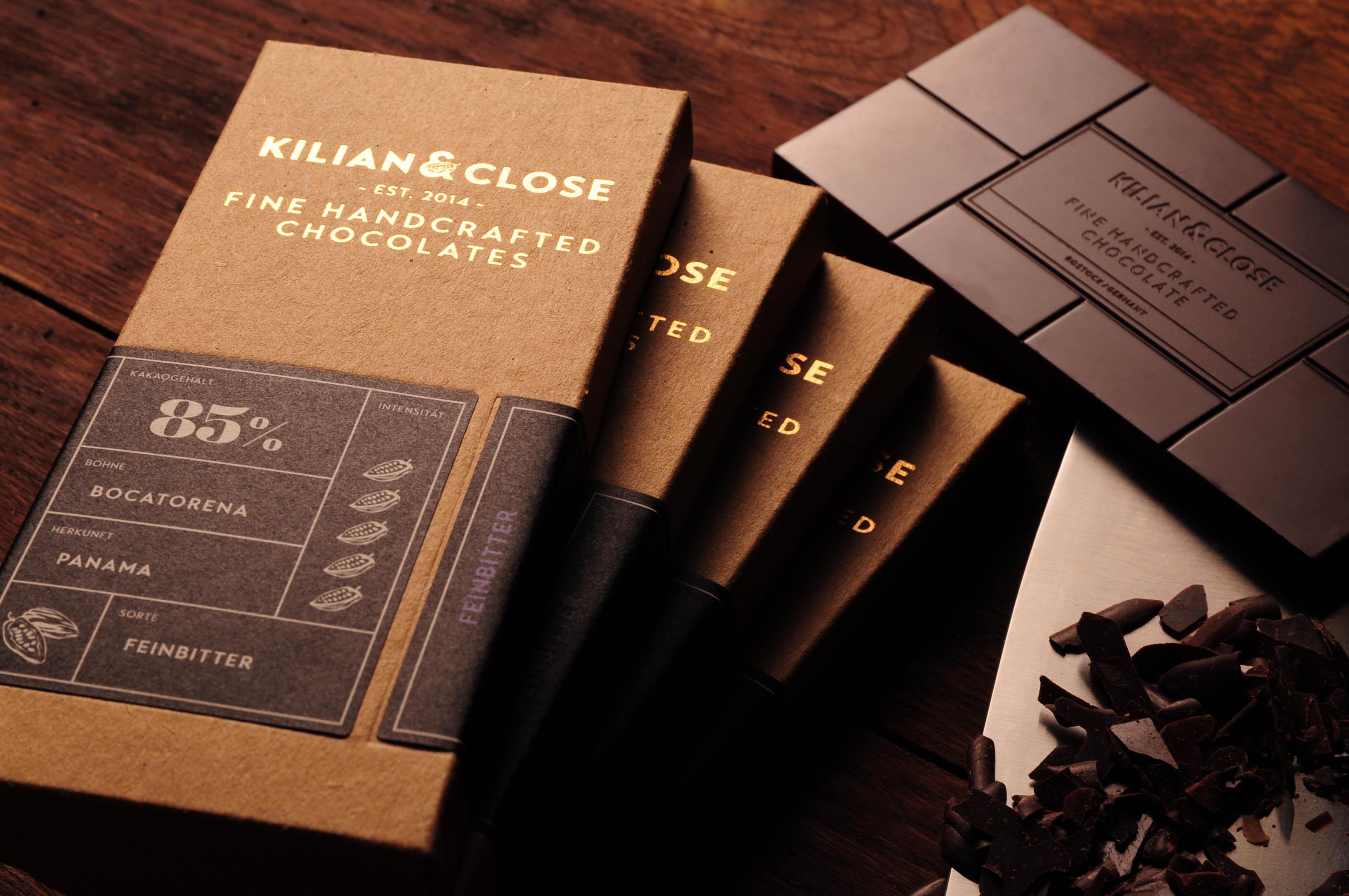 KILIAN & CLOSE | Feinherbe Schokolade 66%