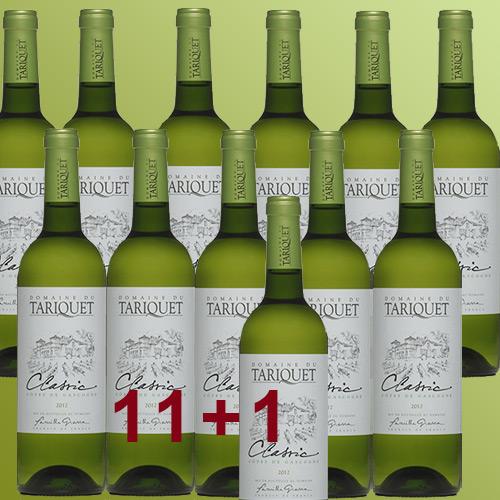 Domaine du Tariquet  CLASSIC Ugni Blanc Colombard 2017 11+1 AKTION